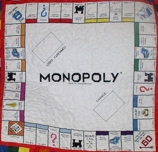 Monopoly quilt