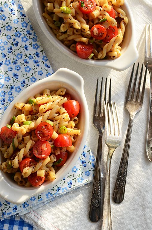 easiest summer pasta salad. ever.