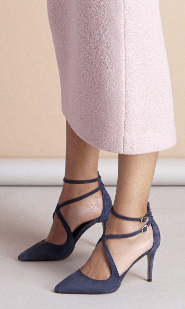 1000  ideas about Navy Strappy Heels on Pinterest | Sexy heels