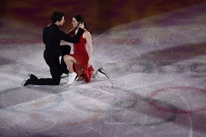 Tessa Virtue and Scott Moir skate on Olympic ice for (probably) the last time 2018