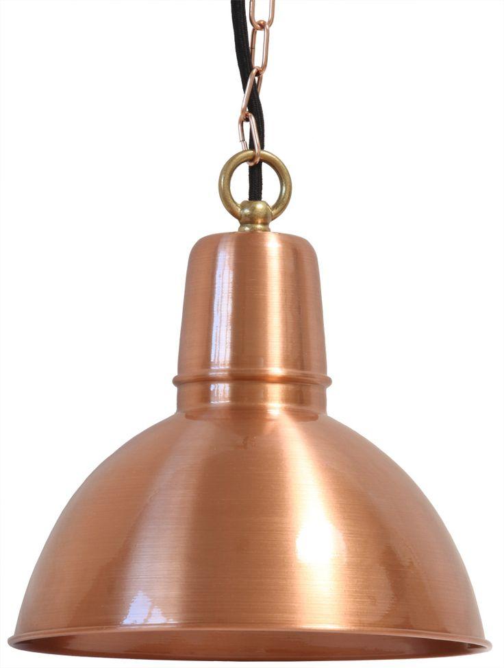 New Industriestil H ngeleuchte K ln Kupfer von Bolich Leuchten Foto