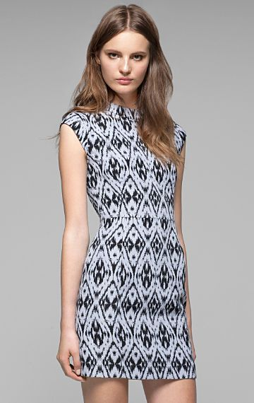 Women's Dress - Orinthia Ikat Dress - Theory.com