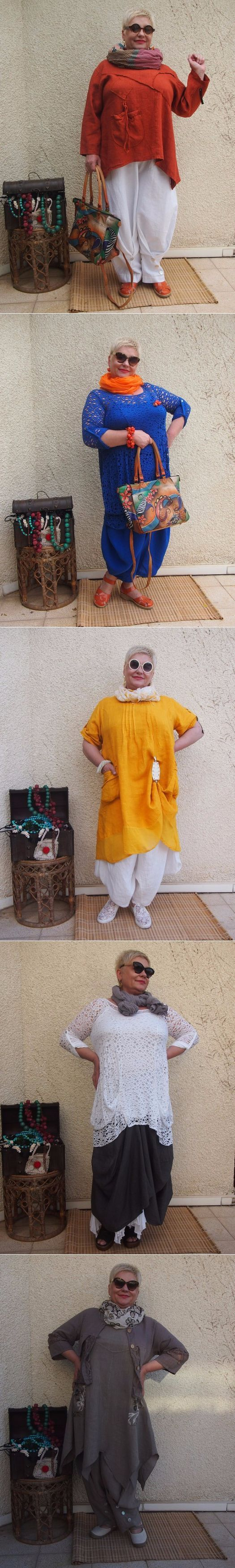 Мода для полных дам-любителей 'бохо'-стиля