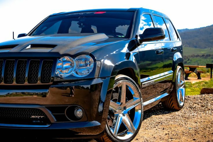 2006 Jeep Grand Cherokee is not to be messed with!