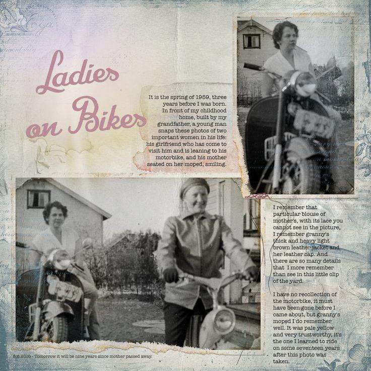 Ladies on Bikes by Eijaite.deviantart.com on @DeviantArt