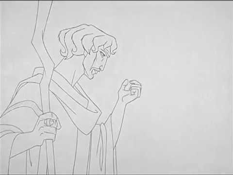 Prince of Egypt (1998) Pencil Tests by James Baxter