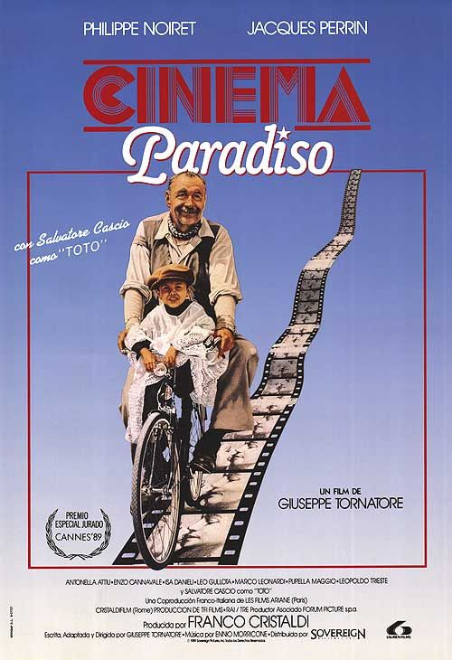 Cinema Paradiso  -this is one of my favorite movie