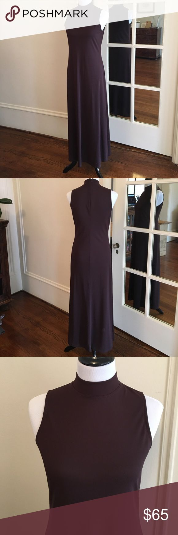 Max Studio - Leon Max - Long Fitted Dress Form fitting sleeveless dress. High neckline takes this sexy dress to sophisticated. Show off your curves and wear in happiness! Max Studio Dresses