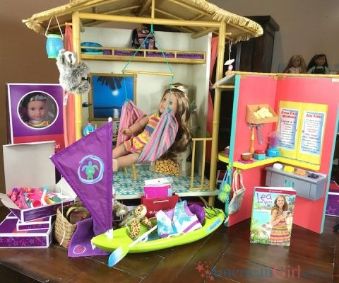 American Girl Doll Lea Clark Entire Collection