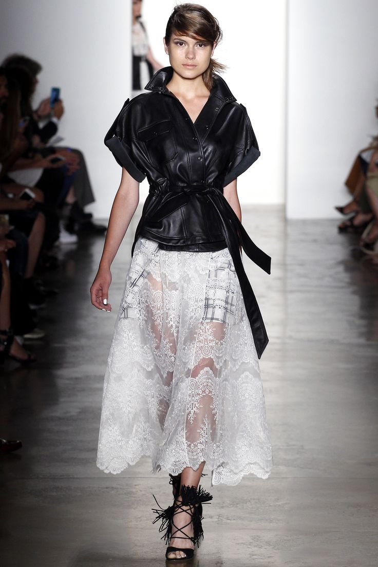 lace, leather, tassels, and more at Marissa Webb Spring 2016 Ready-to-Wear Fashion Show