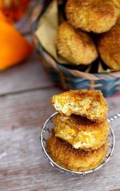 Meatballs with pumpkin and ricotta baked - Polpette di zucca e ricotta al forno