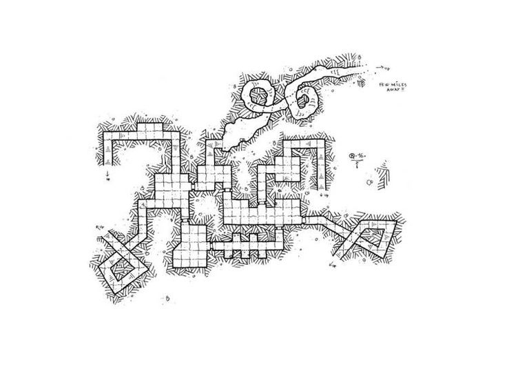 #Mapvember Day 24 : #Awakening  Fort of Veneban, the 17 Caltac, 1043 PF  A shattering noise awoke me with a start. I had scarcely had time to open my eyes when I heard a guard shouting that the beast was awake. I quickly realized from the hustle and bustle,  that the noise I had just heard was the northern wall that had just collapsed. So the Behemoth really existed, and it was there ! The time to put on my patroller outfit, and the dormitory wall was shattering. We couldn't do anything, the…