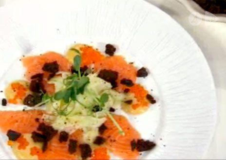 Sashimi med syrad fänkål   Recept.nu