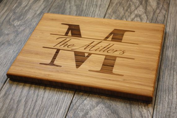 Personalized Gift Personalized Cutting Board by OurCuttingBoard