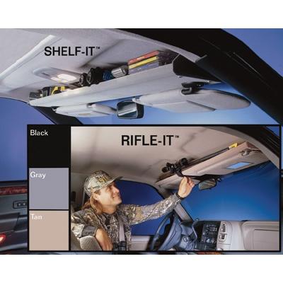 overhead shelf for extra storage