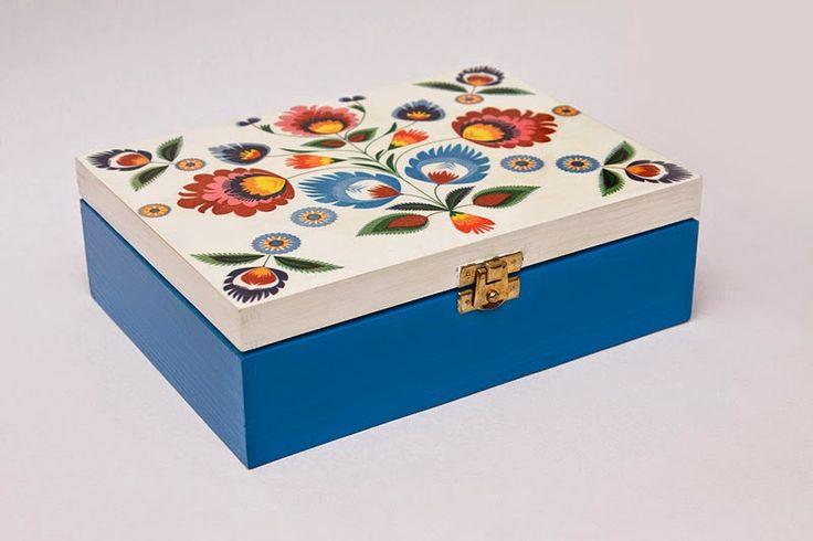 MAMTWORY: Drewniana szkatułka z pierścieniami