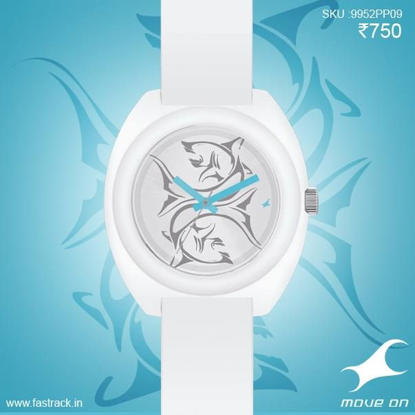 A man is only as good as the IndividualiTEES he possesses.  #Pisces #Zodiac #Fashion #Watch #White  www.fastrack.in/tees/individualitees