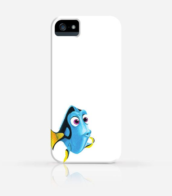 Finding Nemo Dory iPhone 4/4s iPhone 5/5s Case by byJanice on Etsy