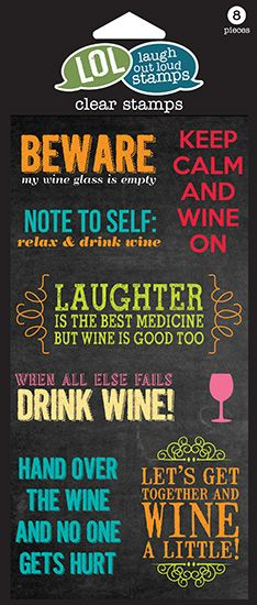 Hampton Arts - Stamps - Wine On