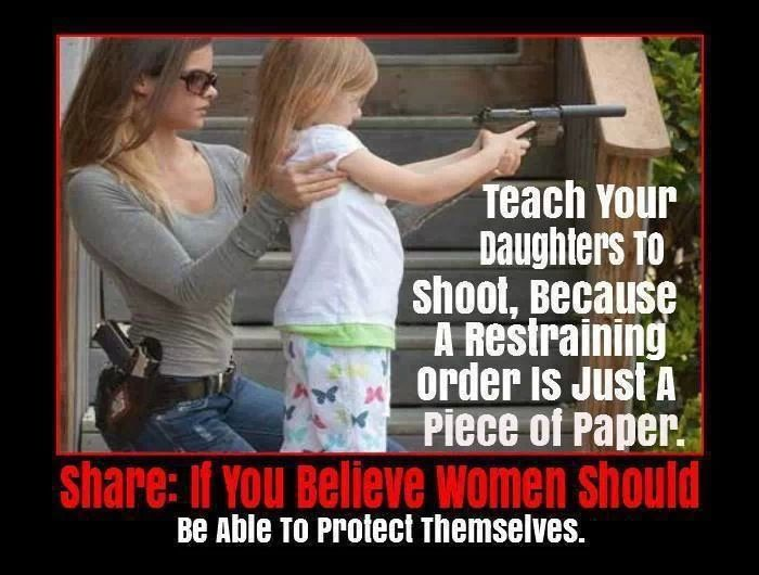 girls with guns are good.