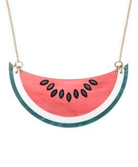 Watermelon Necklace £65 - 15th Birthday 2014