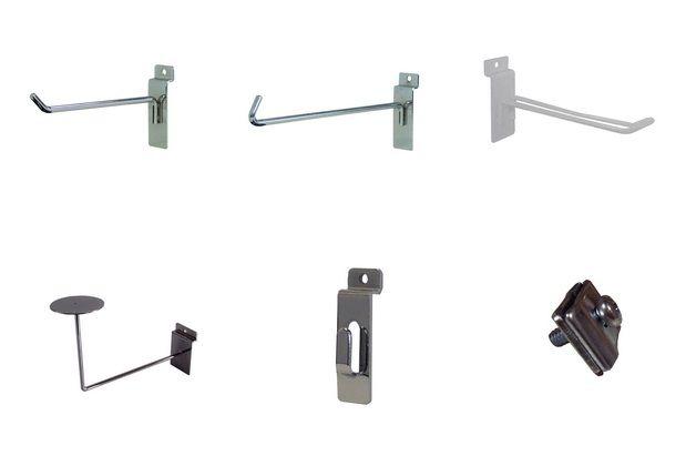 Slatwall Displays, Panels & Accessories Canada - http://idealdisplays.ca/04_slatwall_accessories.html
