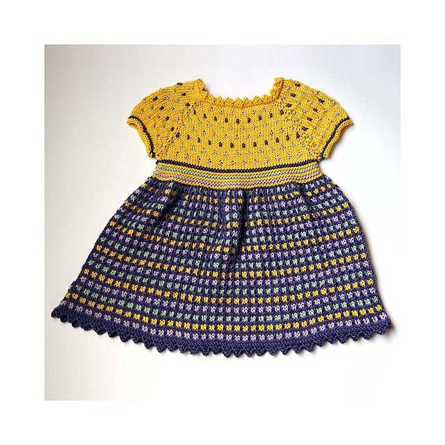 Ravelry: HANNAH BABY DRESS pattern by Irina Poludnenko