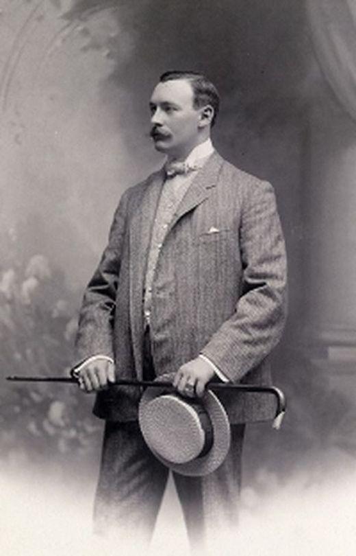 Hans Gamper, fundador del FC Barcelona, el 29 de novembre de 1899
