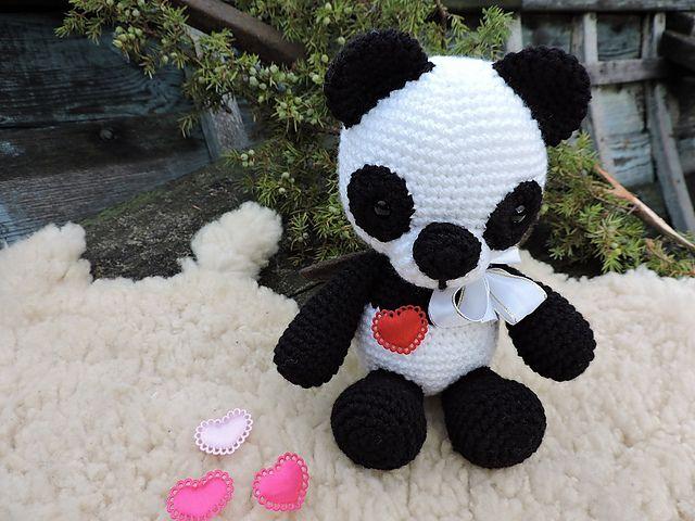 Amigurumi Crochet Patterns Teddy Bears : Best amigurumi bears and panda s images crochet