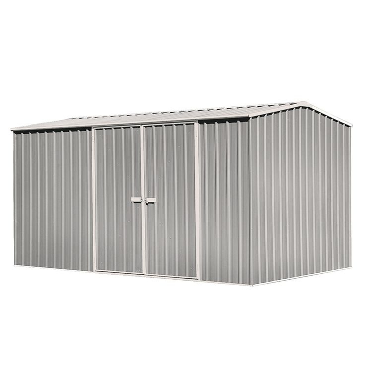 Find Garden Pro 3.74 x 2.26 x 2m Tidymaster Double Door Shed - Zinc at Bunnings Warehouse. Visit your local store for the widest range of garden products.