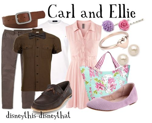 More Carl and Ellie outfits...