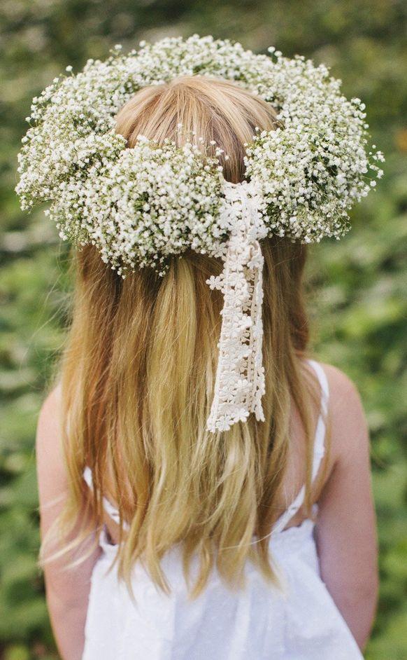 Gyp flower crown.