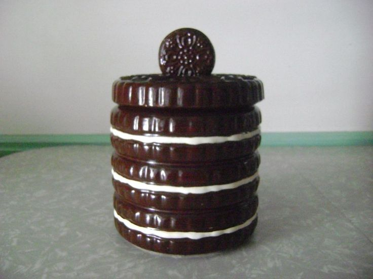 Nabisco Oreo Cookie Jar 3 Stacks canister   | eBay