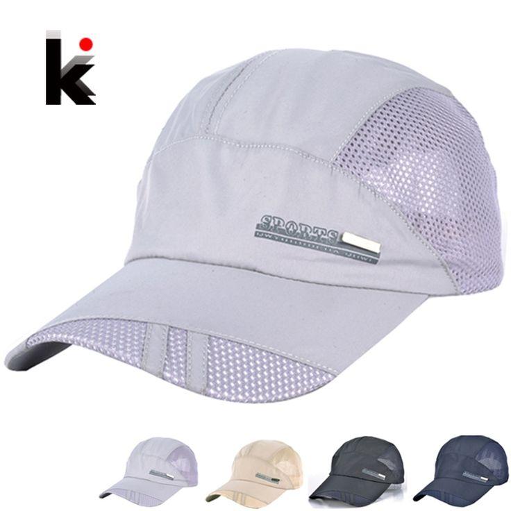Men's Women's visor hats Quick Dry summer sun cap Mountaineering hat casquette chapeu Outdoors mesh Baseball caps