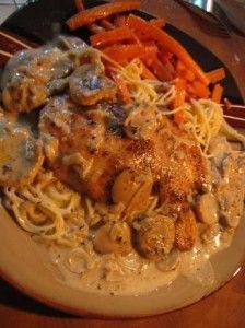 Carrabba's Chicken Marsala - Sweet Treat Eats