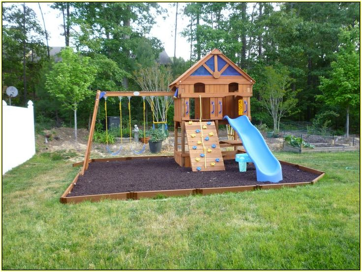12 best images about playset upgrade on pinterest - Backyard swing plans photos ...