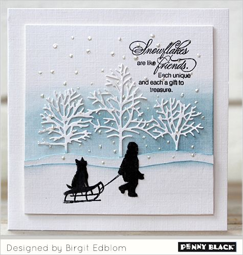 Romantic Winter Scenes | The Penny Black Blog