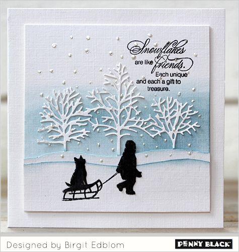 Romantic Winter Scenes | The Penny Black Blog