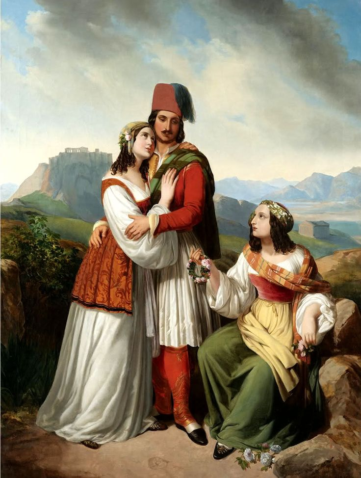 Theodoros Vryzakis - The Young Man's Farewell