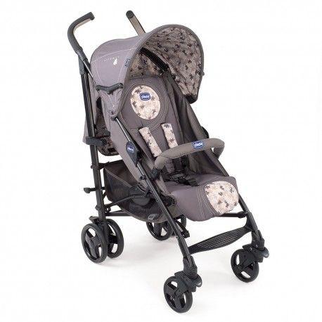 SILLA DE PASEO CHICCO LITE WAY (EDICIÓN ESPECIAL): sillita de paseo para bebés con un diseño único y actual, muy ligera y compacta. Incluye cubrepies y protección solar UV 50+.