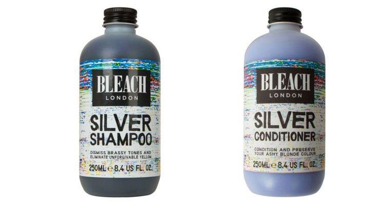 Bleach London Silver Shampoo and Conditioner  - CosmopolitanUK