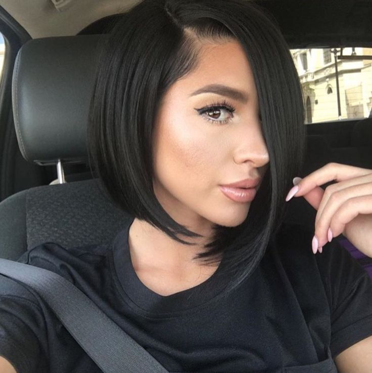 Magnificent 1000 Ideas About Black Bob Hairstyles On Pinterest Black Bob Hairstyle Inspiration Daily Dogsangcom