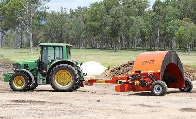 Compost Windrow Turner 2.7 meter wide Price : AU$48,125.00 (inc GST) AU$43,750.00 (exc GST)