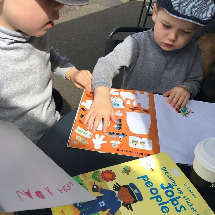 Sometimes you just need a minute....  These Usborne activity books are perfect for keeping monkeys busy! You can take them to a cafe on a plane or just use them at home. Your monkeys will LOVE them! ...... 'The Jobs People Do' sticker book may appear in the September People Box .... #preschoolerlife #toddler #toddlerlife #toddleractivity #kidscrafts #kidsactivities #montessori #parenting #sahm #wahm #earlychildhood #childhoodunplugged #australia #playideas #boxformonkeys #instahappy…