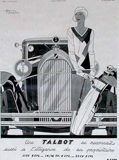 Nice 1930 art deco poster