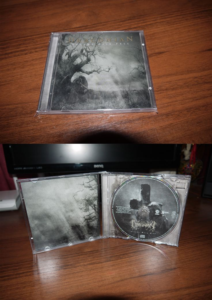 DraconiaN - Arcane Rain Fell (2005 IROND) another Russian edition
