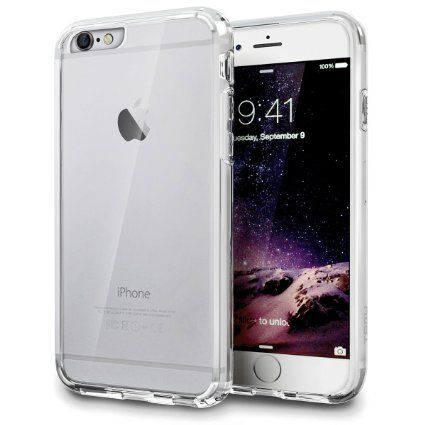 Amazon.com: iPhone 6S Case, TORU [VX PRO] iPhone 6 Clear Case - Slim Fit Crystal Clear Hard Cover with Black Protective Soft Cushion TPU Bumper for Apple iPhone 6/6S - Clear: Cell Phones & Accessories