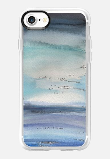 The Storm´s coming - designed by Patricia Sodré for Casetify.  #iphonecase #patriciasodre #casetify #art #watercolor #abstract #iphone7