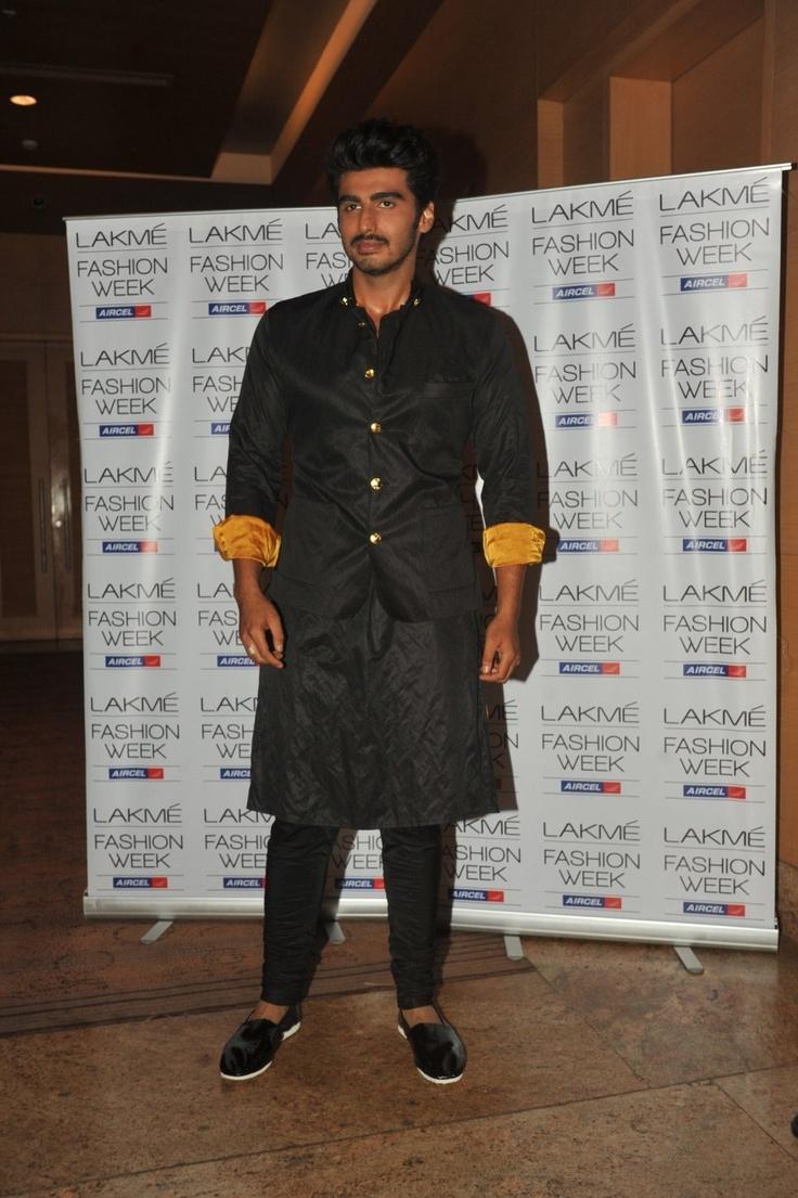 Arjun Kapoor at Day 2 of Lakme Fashion Week 2013.