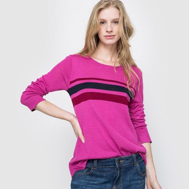 Gestreepte trui met lange mouwen R essentiel